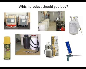 choose foam products